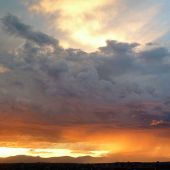 Jemez Mountains, Northern New Mexico: Sunset and storm - Landscape Photography