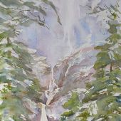 Artist's Private Collection - Yosemite Falls: Yosemite