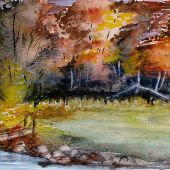 Vermont: Fall, Green River
