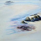 Sold to Private Collector - Mendocino, California: Big River Beach